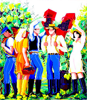 Harvest Time 1991 Limited Edition Print - Giancarlo Impiglia