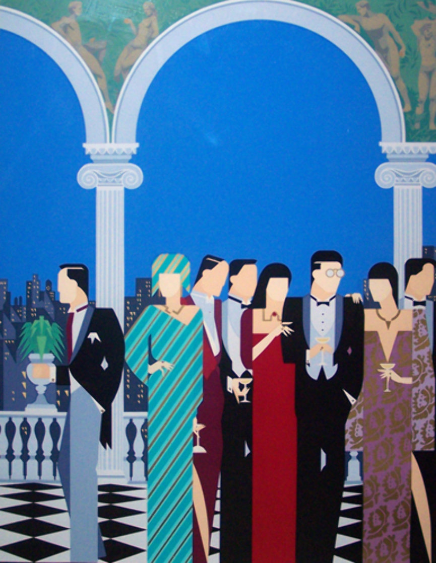 Top of the City AP Limited Edition Print by Giancarlo Impiglia