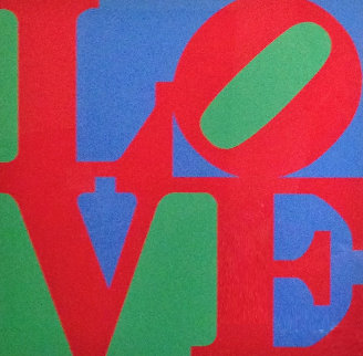 Heliotherapy Love 1995 Limited Edition Print - Robert Indiana