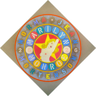 American Dream (Metamorphosis of Norma Jean Mortenson) 1996 Limited Edition Print - Robert Indiana