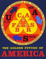 Golden Future of America 1976 Limited Edition Print by Robert Indiana - 0