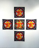 American Dream #5 Suite of 5 1980 Limited Edition Print by Robert Indiana - 0