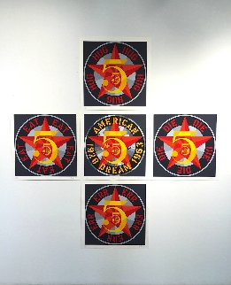 American Dream #5 Suite of 5 1980 Limited Edition Print - Robert Indiana