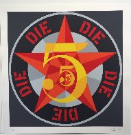 American Dream #5 Suite of 5 1980 Limited Edition Print by Robert Indiana - 13