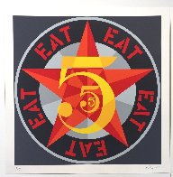 American Dream #5 Suite of 5 1980 Limited Edition Print by Robert Indiana - 19
