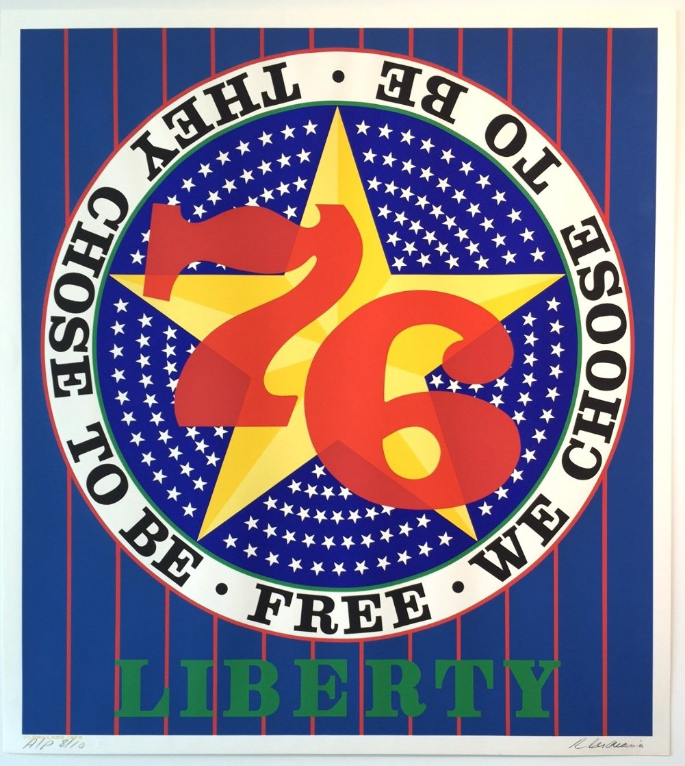 Liberty '76 AP 1974 Limited Edition Print by Robert Indiana