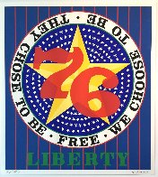 Liberty '76 AP 1974 Limited Edition Print by Robert Indiana - 0