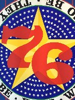Liberty '76 AP 1974 Limited Edition Print by Robert Indiana - 5