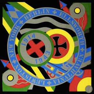 Hartley Elegies-KVF X (Berlin Series)  Limited Edition Print - Robert Indiana