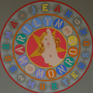 Metamorphosis of Norma Jean 1998 Limited Edition Print - Robert Indiana