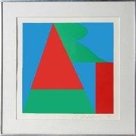 Art From the on the Bowery Portfolio 1969 Limited Edition Print by Robert Indiana - 1