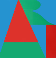 Art From the on the Bowery Portfolio 1969 Limited Edition Print by Robert Indiana - 0