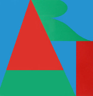 Art From the on the Bowery Portfolio 1969 Limited Edition Print - Robert Indiana