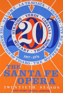 Santa Fe Opera 1976 HS  Limited Edition Print - Robert Indiana