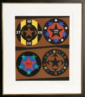 Tilt From the American Dream Portfolio Limited Edition Print by Robert Indiana - 1