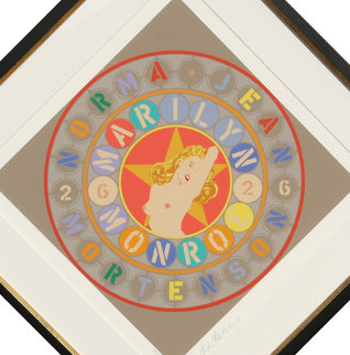 Marilyn From the American Dream Portfolio 1997 Limited Edition Print - Robert Indiana