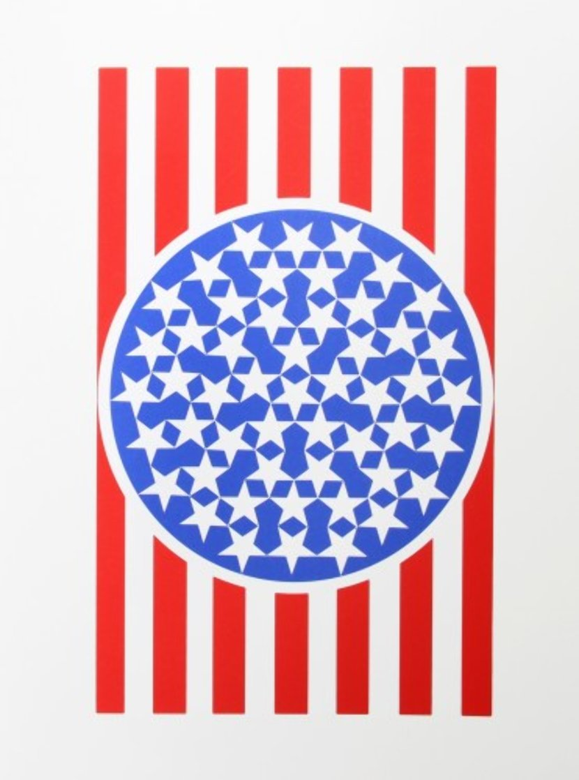 New Glory Banner From the American Dream Portfolio 1963 Limited Edition Print by Robert Indiana
