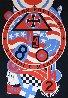 Hartley Elegies - KVF II 1990 Limited Edition Print by Robert Indiana - 1