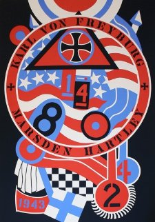 Hartley Elegies - KVF II 1990 Limited Edition Print - Robert Indiana