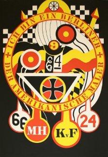 Hartley Elegies - KVF III 1990 Limited Edition Print by Robert Indiana