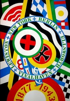 Hartley Elegies - KVF IV 1990 Limited Edition Print - Robert Indiana