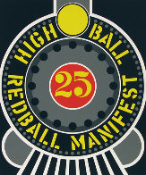 High Ball Red Ball Manifest 25 1996 Limited Edition Print by Robert Indiana - 0