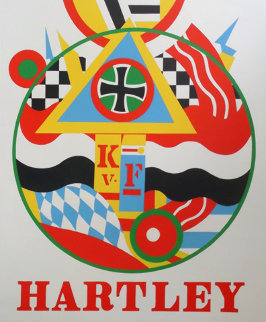 For Friendship Vinalhaven Proof 1 1990 Limited Edition Print - Robert Indiana