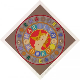 Metamorphosis of Norma Jean 1998 Marilyn Monroe Limited Edition Print - Robert Indiana