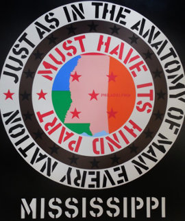 Mississippi 1971 Limited Edition Print - Robert Indiana