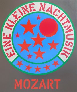 Eine Kleine Nachtmusik 1971 Limited Edition Print by Robert Indiana