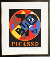 Picasso From the American Dream Portfolio 1997 Limited Edition Print by Robert Indiana - 1