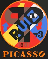 Picasso From the American Dream Portfolio 1997 Limited Edition Print by Robert Indiana - 0