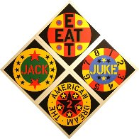 American Dream #2 Set of 4 Screenprints 1982 Limited Edition Print by Robert Indiana - 0