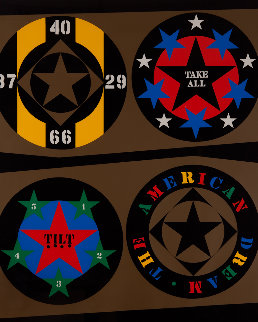 American Dream 1971 Limited Edition Print by Robert Indiana