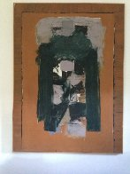 East Gate 1964 72x53 Original Painting by Angelo Ippolito - 1