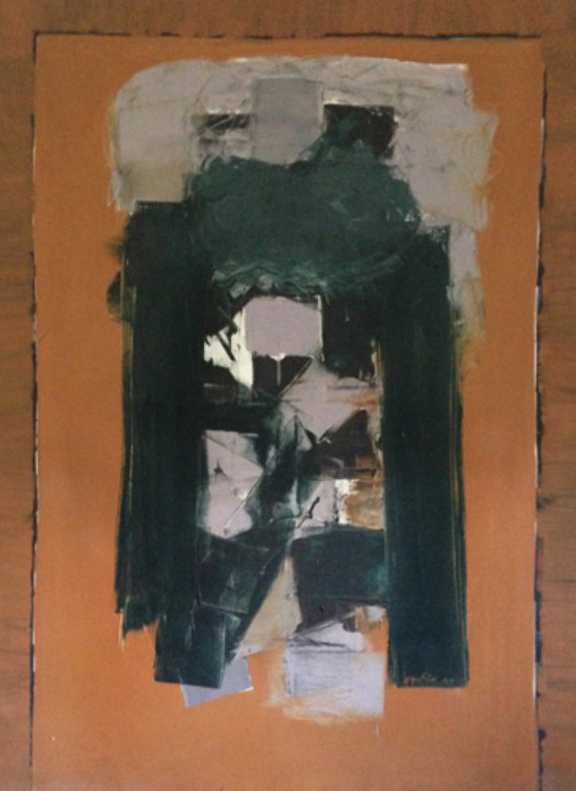 East Gate 1964 72x53 Original Painting by Angelo Ippolito