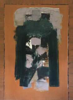 East Gate 1964 72x53 Original Painting - Angelo Ippolito