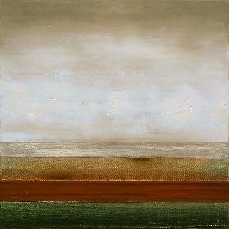 Coast Line 2017 19x19 Original Painting - Eugene Ivanov