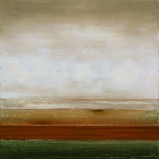 Coast Line 2017 19x19 Original Painting by Eugene Ivanov