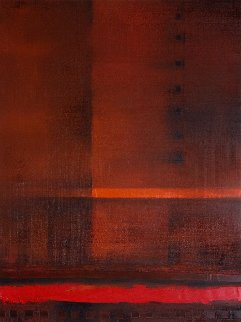 Red River 2017 31x23 Original Painting by Eugene Ivanov