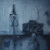 Foggy Dream in Early Winter 19x19 Original Painting by Eugene Ivanov  - 0
