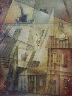 Autumn Navigation 2018 31x23 Original Painting by Eugene Ivanov