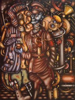 Underworld Kingdom 2014 31x23 Original Painting by Eugene Ivanov