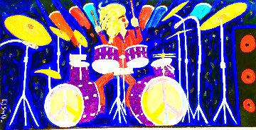 Drum Craft 2017 48x96 Super Huge Original Painting -  Mr.