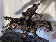 Marshall III Bronze Sculpture 1979 12 in Sculpture by Harry Andrew Jackson - 1