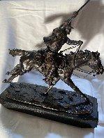 Marshall III Bronze Sculpture 1979 12 in Sculpture by Harry Andrew Jackson - 2