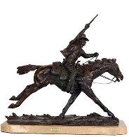 Marshall III Bronze Sculpture 1979 12 in Sculpture by Harry Andrew Jackson - 0