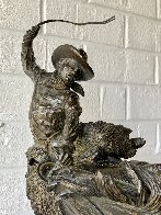 Two Champs II Bronze Sculpture 1977 19 in Sculpture by Harry Andrew Jackson - 3