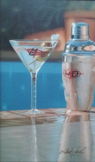 Shaken Not Stirred 2005 Embellished Limited Edition Print - Scott Jacobs
