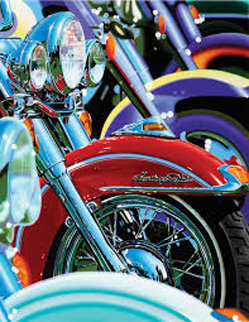 Harley Davidson 2003 Limited Edition Print by Scott Jacobs